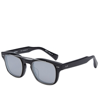 Dita Kasbah Sunglasses Matte Black And Dark Grey