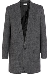 Saint Laurent Wool Tweed Blazer