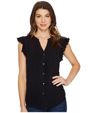 Paige Sarita Top Black Women's Clothing