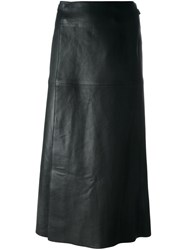 Isabel Marant 'Candy' Wrap Skirt Black