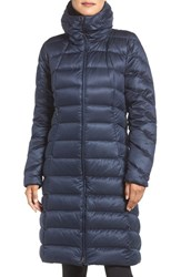 Patagonia Women's Downtown Loft Down Puffer Parka Navy Blue