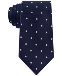 Club Room Men's Texture Dot Tie Only At Macy's Navy