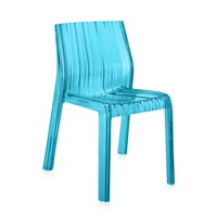 Kartell Frilly Chair Light Blue