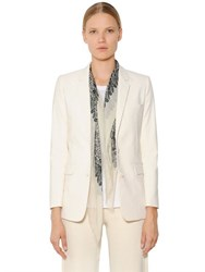 Helmut Lang Stretch Cotton Canvas Jacket