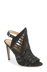 Women's L.A.M.B. 'Hadley' Cutout And Mesh Sandal 4 1 2' Heel