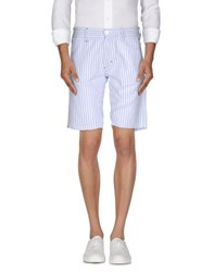 Sun 68 Trousers Bermuda Shorts Men Sky Blue