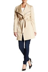 Soia And Kyo Belted Trench Coat Beige