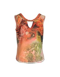 Guess By Marciano Tops Coral