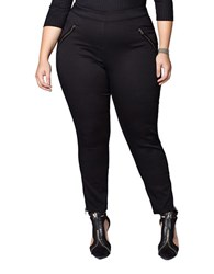 Mblm By Tess Holliday Plus Cotton Blend Jeggings Black