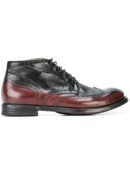 Officine Creative 'Anatomia' Boots Red