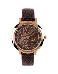Thierry Mugler Wrist Watches Dark Brown