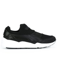 Stampd Contrast Sole Sneakers Black