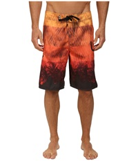 L R G Plant Nation Boardshorts Gold Men's Swimwear
