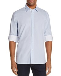 Robert Graham Coconut Grove Classic Fit Button Down Shirt 100 Bloomingdale's Exclusive Light Blue