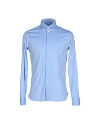Brio Shirts Shirts Men Sky Blue