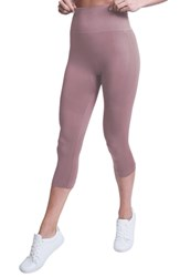 Climawear Set The Pace High Waist Capri Leggings Antler