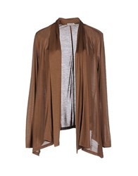 Henry Cotton's Knitwear Cardigans Women Brown