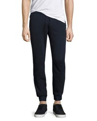 Original Penguin Slim Fit Drawstring Track Pants Blue