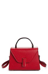 Valextra Iside Mini Top Handle Bag Red