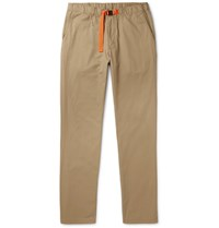 Patagonia Gi Belted Organic Cotton Twill Trousers Brown