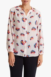 Fenn Wright Manson Caprice Long Sleeve Top White Floral