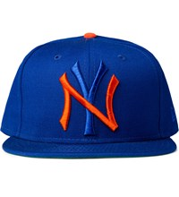 Mister Mets Mr. True Ny Snapback Cap
