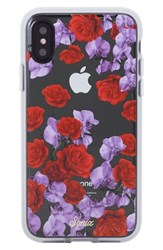 Sonix Rose Orchid Iphone X Case Red Red Lavender