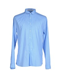 Individual Shirts Shirts Men Sky Blue