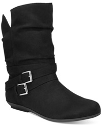 Rampage Bram Slouchy Booties Women's Shoes