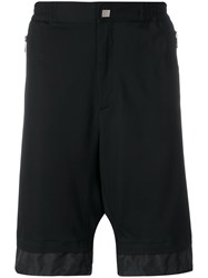 Versace Collection Layered Track Shorts Black