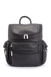 Royce Leather Colombian Genuine Leather 15' Laptop Backpack Black
