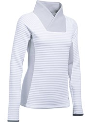 Under Armour Insulated Shawl Neck Jumper White