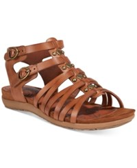 Bare Traps Robbi Gladiator Sandals Women's Shoes Brush Brown