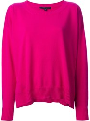 Gucci Oversized Sweater Pink And Purple