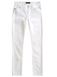 Marc Cain Slim Jeans White