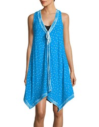 Coco Reef Clarity Dots Coverup Dress Sea Blue