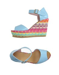 Fornarina Footwear Sandals Women Sky Blue