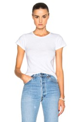Re Done 1960S Slim Tee In White