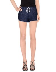 Debbie Katz Trousers Shorts Women Dark Blue