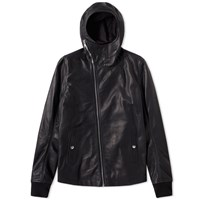 Rick Owens Bullet Leather Jacket Black