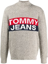 Tommy Jeans Logo Roll Neck Jumper 60
