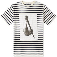 J.W.Anderson Jw Anderson Durer Arm And Sword Stripe Tee White
