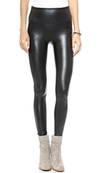 Spanx Ready To Wow Faux Leather Leggings Black