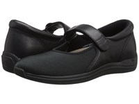 Drew Shoe Magnolia Black Nappa Stretch Women's Shoes