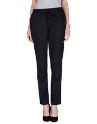 Scee By Twin Set Trousers Casual Trousers Women Black