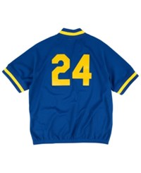 Mitchell And Ness Men's Ken Griffey Jr. Seattle Mariners Bp Mesh Jersey Top Royalblue Gold