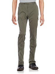 Slowear Solid Cargo Pants Light Olive