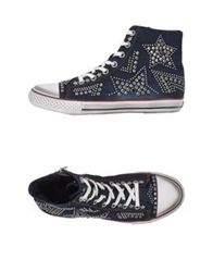 Ash High Tops And Trainers Blue