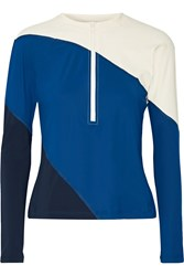 Flagpole Swim Elliot Color Block Rash Guard Cobalt Blue