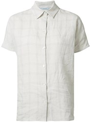 Dusan Short Sleeve Shirt White